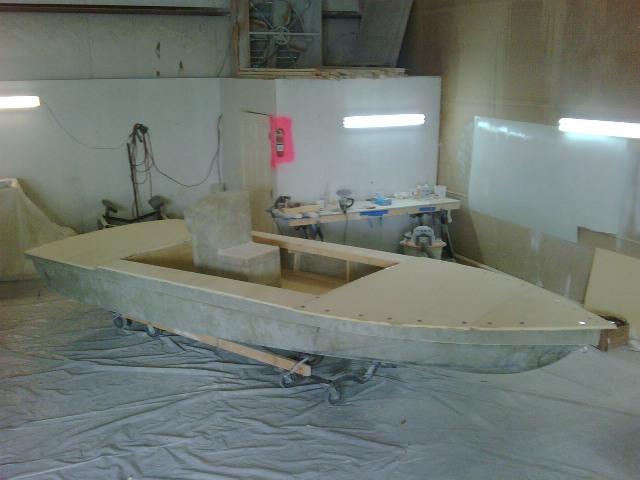 Custom Flats Boat Build: March 2011