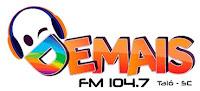 Rádio Demais FM 104,7 de Taió SC