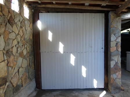 Portão de estores de pvc - colocação dos estores
