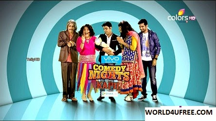 Comedy Nights With Kapil 15 NOV 2015 HDTV Rip 250mb kapil tv show comedy show free download at https://world4ufree.ws