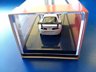 Tarmac Works 1/64 Toyota Supra Racing Version White - Hong Kong Minicar Festival Exclusive Model