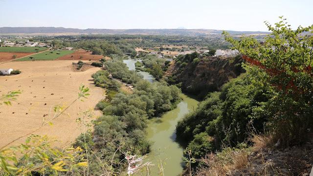 Rio Guadalete desde el Mirador de la Peña Vieja - Arcos de la Frontera