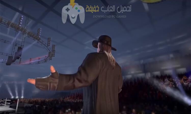 تحميل لعبة مصارعة WWE للكمبيوتر برابط مباشر من ميديا فاير
