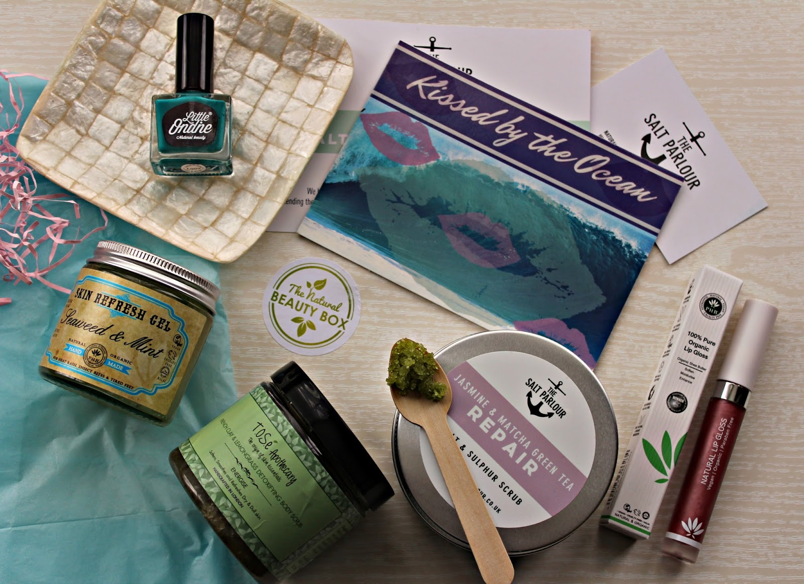 Introducing Natural Beauty box: Kissed by the Ocean edition