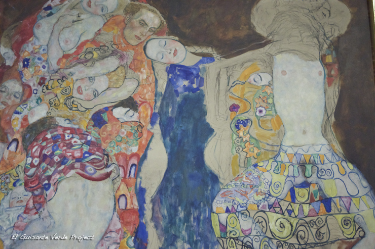 Klimt en el Belvedere - Viena, por El Guisante Verde Project