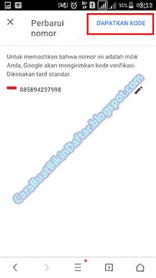 Cara Mengganti Nomor Hp Di Gmail (Akun Google)