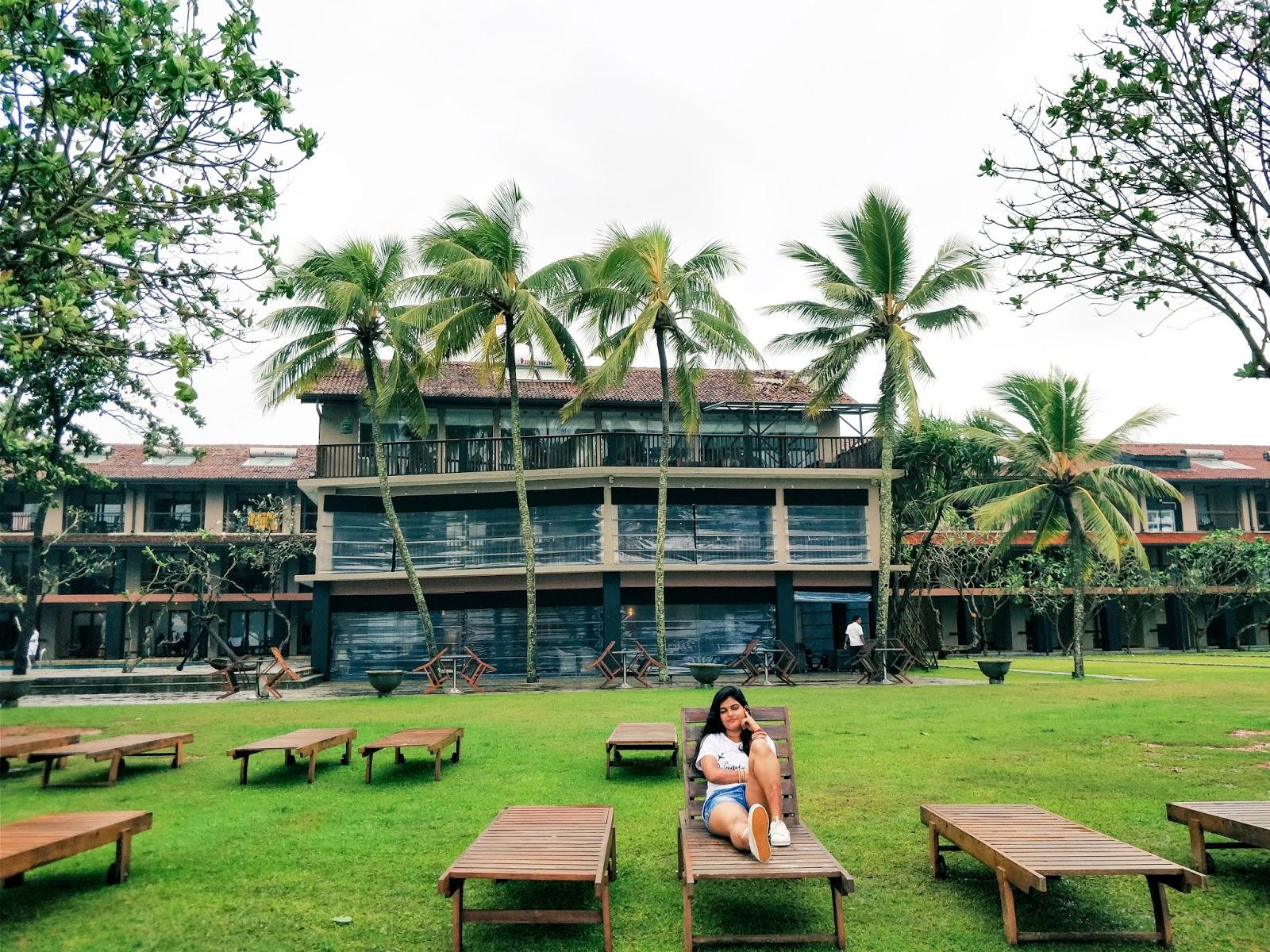 Earl's Reef Beruwala resort at Bentota, Sri Lanka