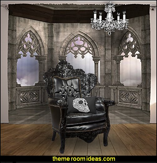 Medieval  gothic decor  Gothic style bedroom decorating ideas - Gothic furniture - Gothic chic - Victorian Gothic boudoir themed decor  - Gothic Beds -  Gothic Seating - Gothic Lighting - Designing a Gothic Room - Goth style for teens - Gothic Victorian Bedroom Theme - vampire themed bedroom decorating ideas - Gothic Wall Murals - gothic living room - Gothic bedding -  Gothic wall decorations