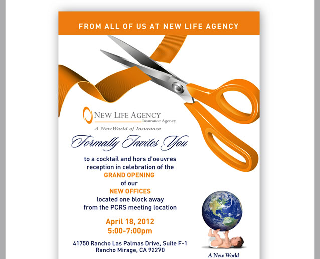 Start Right With New Life Agency Save the Date April 18th~ New