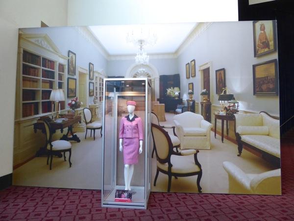 Jackie film costume exhibit