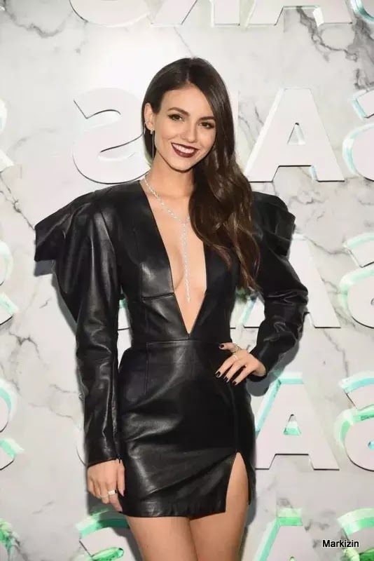 Victoria Justice At The Saks Celebrates