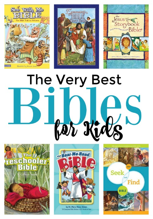 "Don't just buy the ""popular"" kids' Bible. Buy a quality one. Here are the very best."