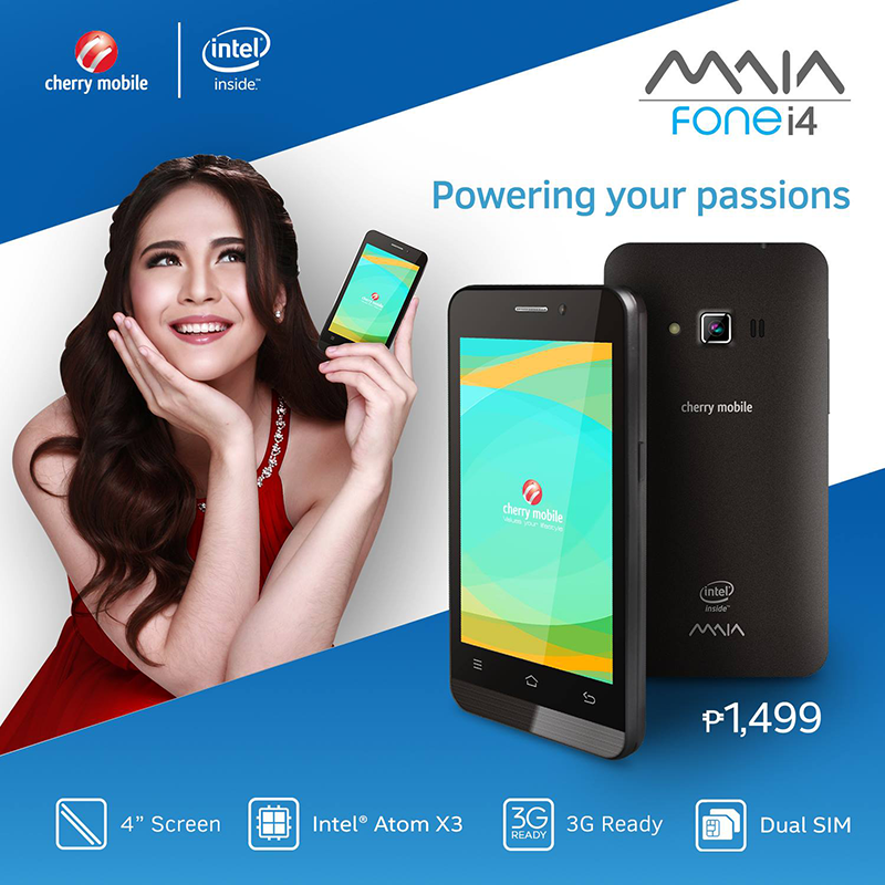 Cherry Mobile MAIA Fone i4 Now In Stores, Priced At 1499 Pesos