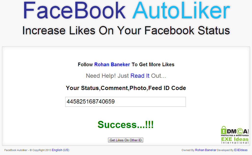 Facebook Photo Auto Liker Software Free Download For Pc