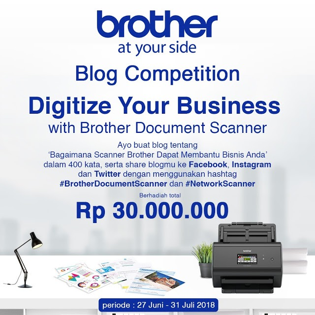 Lomba Blog Scanner Brother