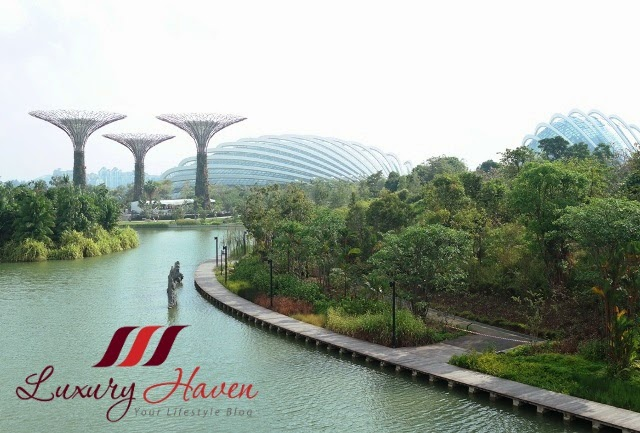 marina barrage gardens by the bay