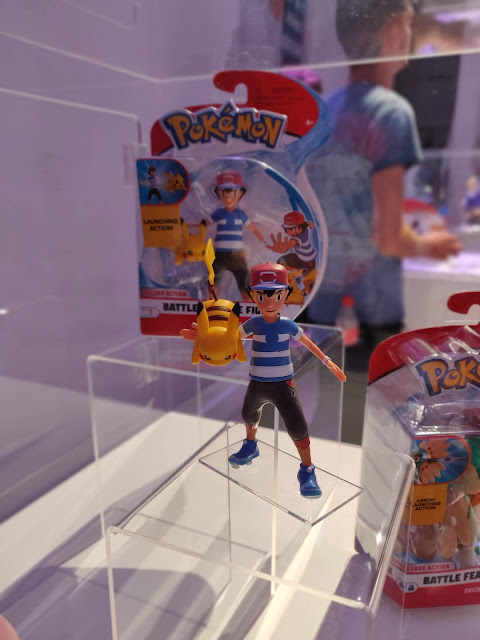 Ash and Pikachu toy