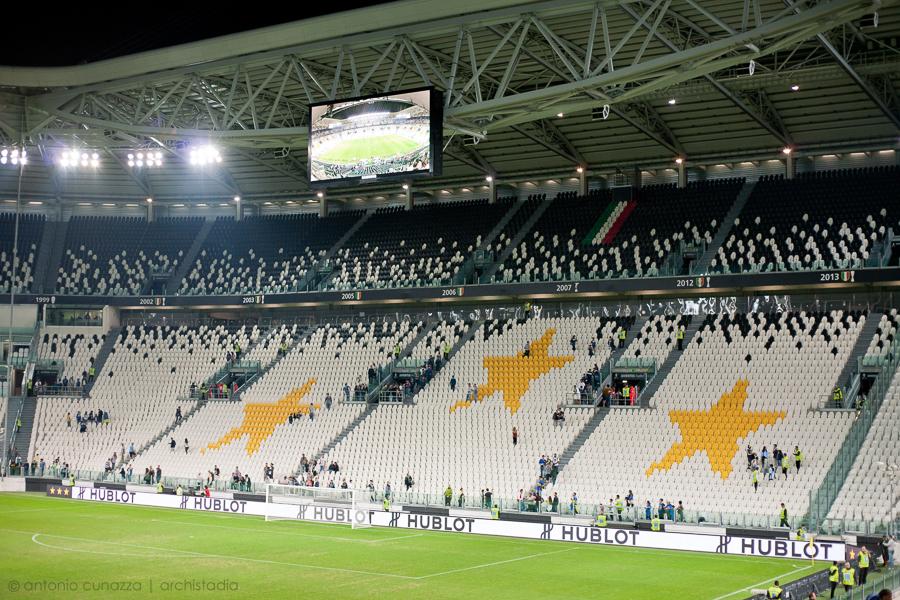 juventus stadium guida archistadia