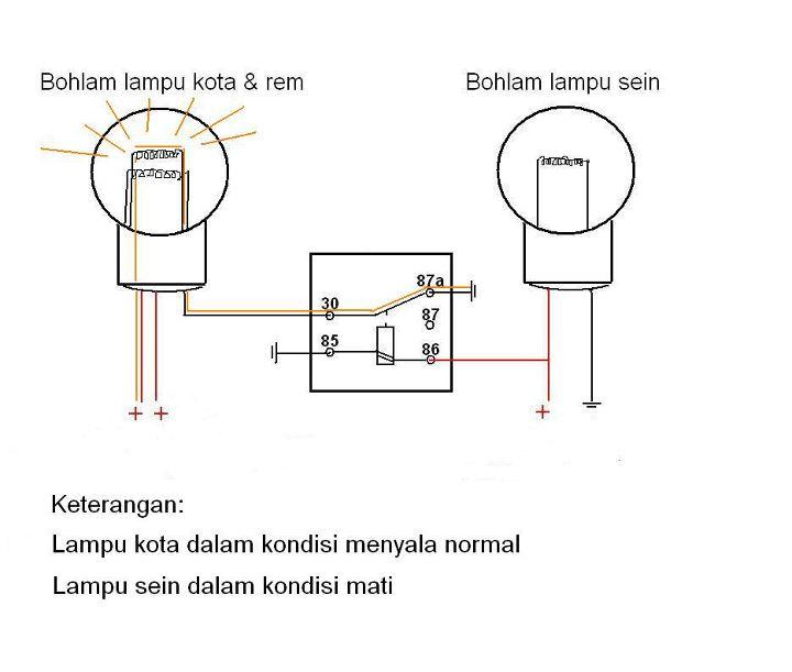 Mengganti relay dengan mosfet untuk solusi lampu depan atau kaya gini mas rangkaiannya ccuart Images
