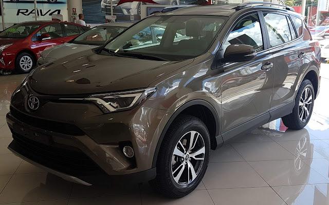 Nova Toyota RAV4 2018: detalhes, itens de série e preço