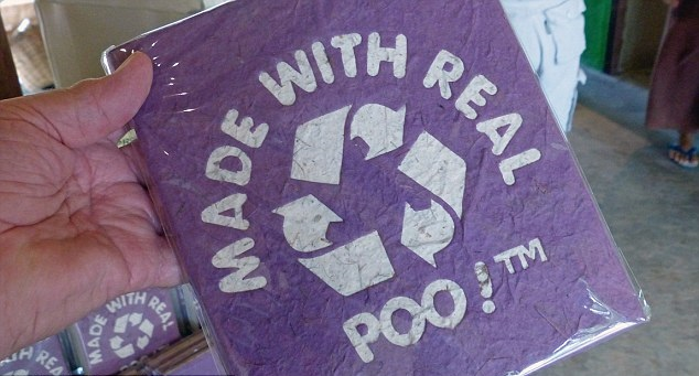 Poopoopaper Park Thailand, poo paper, recycling