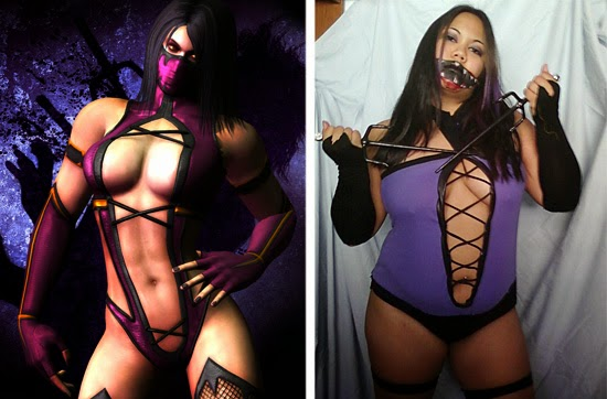 Cosplay Fail- Mileena