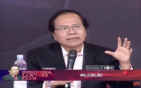"""Blak-Blakan & Closing Cerdas Rizal Ramli di ILC """"Skandal BLBI"""""""