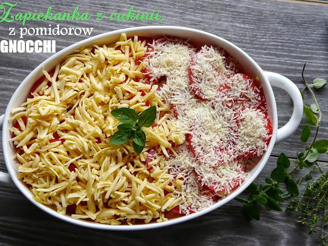 Ulubiona zapiekanka z cukinii, pomidorów i gnocchi - Czytaj więcej »