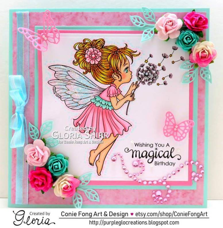 Featured Card at Through The Craft Room Door