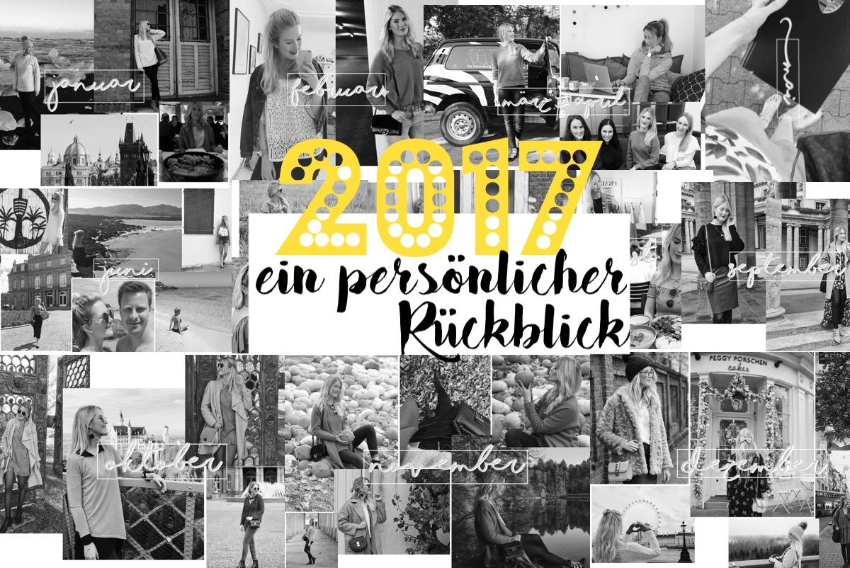 Persönlicher Jahresrückblick 2017 http://www.theblondelion.com/2018/01/mein-jahr-2017-jahresruckblick.html