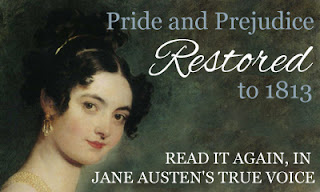 Pride & Prejudice by Jane Austen, restored by Sophie Turner