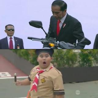 Bikin Takjub di Medsos, Ternyata Ini Makna Video Jokowi di 'Opening Ceremony Asian Games 2018'