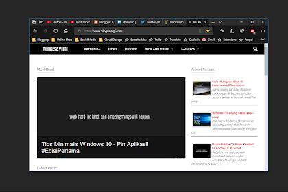 Microsoft Edge Chromium Menunjukan Tampilan Barunya