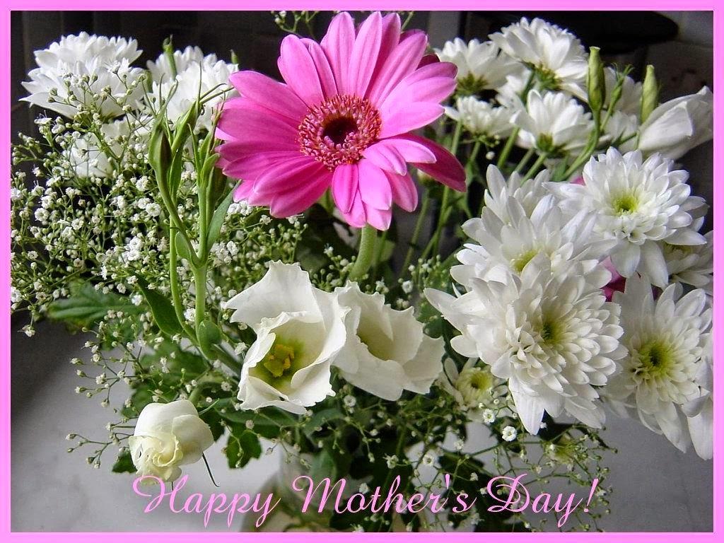 Fondo De Pantalla Flores Blancas En Fondo Rosa: Imagenes Hilandy: Fondo De Pantalla Feliz Dia De La Madre