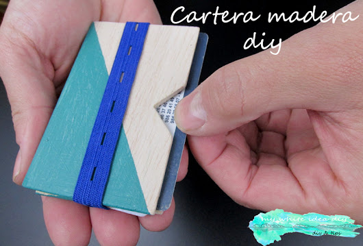 CARTERA DE MADRERA DIY