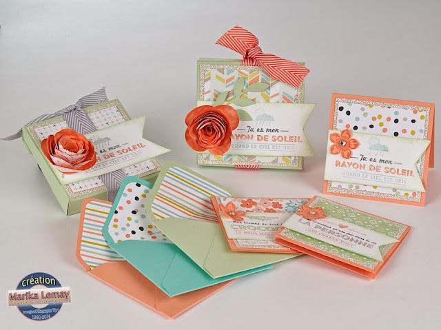 ensemble de cartes, enveloppes et doublures d'enveloppes
