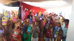 Encontro Kids foi realizado na região do Rio Preto, em São Miguel das Matas