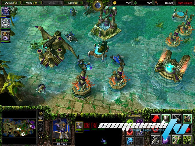 Warcraft 3 The Frozen Throne PC Full Español Expansión