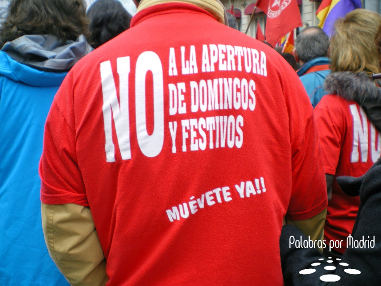 no a la apertura en domingos