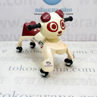 Ride On Car Happy Baby Panda Cream Coklat