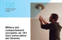Millora del comportament energètic de 181 llars vulnerables del Gironès