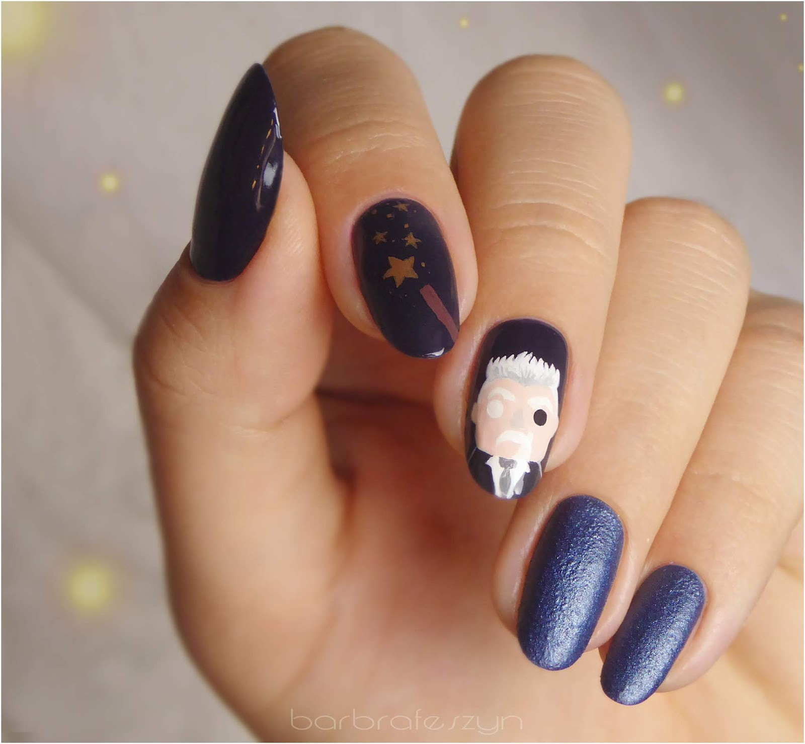 """My nails for premiere of """"Fantastic Beasts: The Crimes of Grindelwald """""""