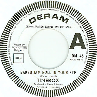 The Belgium promotional single and picture sleeve. Deram DM 46.