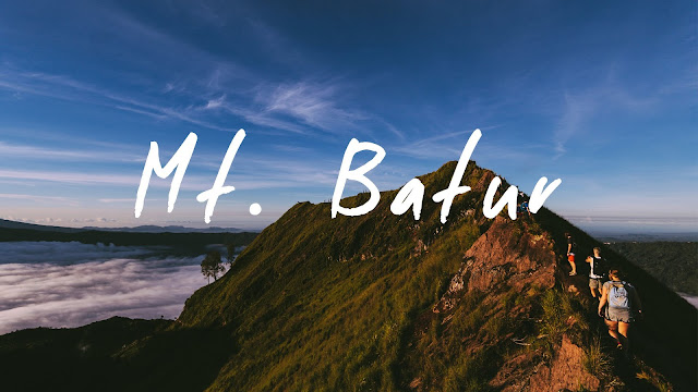 Mount Batur Bali Indonesia