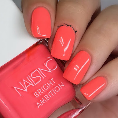 nails inc strictly bikini bright ambition summer 2018 swatches
