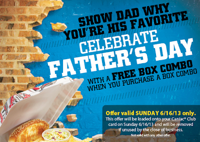 Screen+Shot+2013 06 13+at+10.38.47+AM Celebrate Fathers Day with a FREE Box Combo at Raising Canes