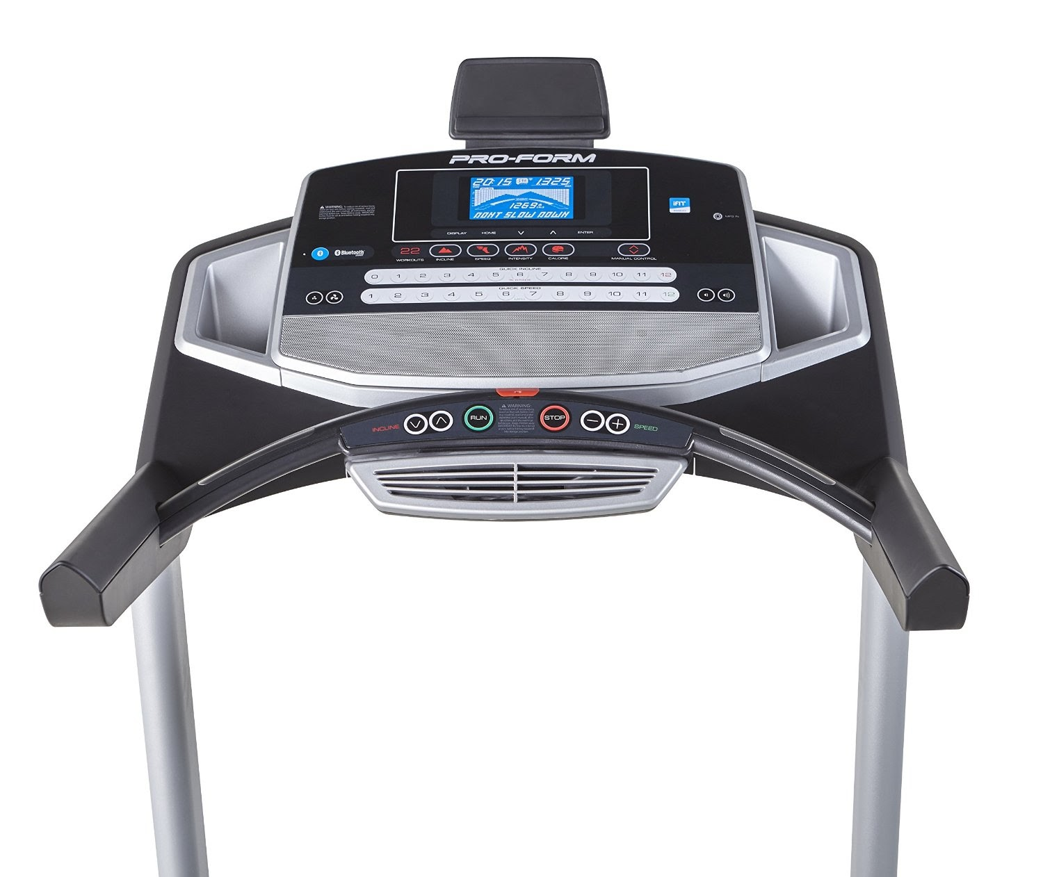 Life Fitness Treadmill Heart Rate Chart: Health And Fitness Den: ProForm Pro 1000 Treadmill, Review
