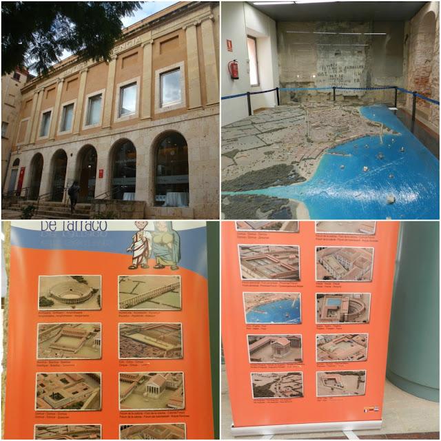 Um dia em Tarragona - o que ver além das ruínas romanas - maquete de Tarraco