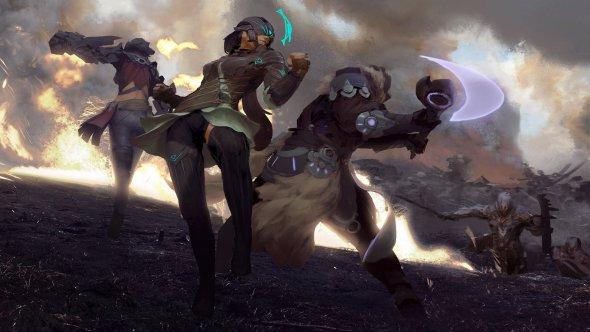 Brandon Liao deviantart artstation ilustrações ficção científica fantasia cyberpunk