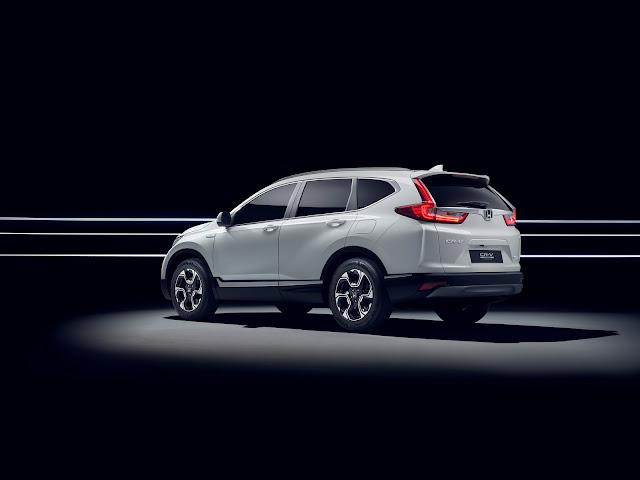 2017 Honda CR-V Hybrid Prototype - #Honda #Hybrid #Prototype #suv